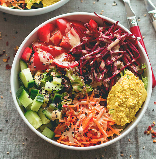 buddha bowl healthy yummy food nutrition